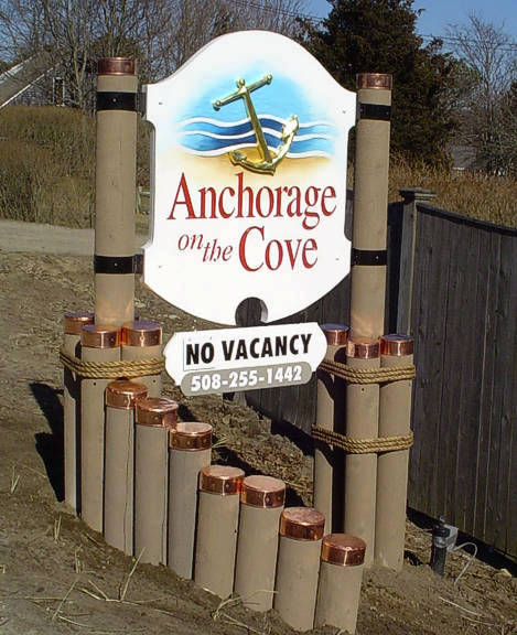 Anchorage on the Cove complete with all posts