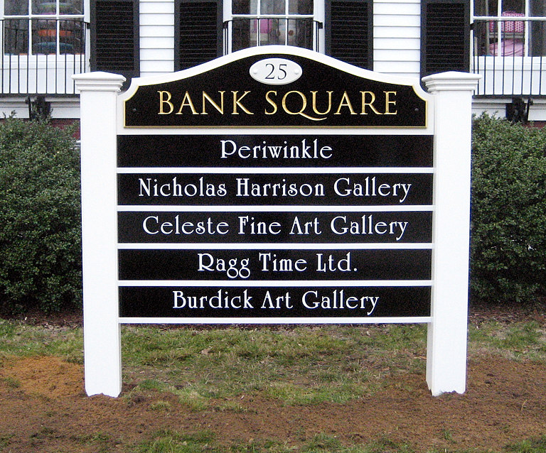 Bank Square, Wellfleet, MA