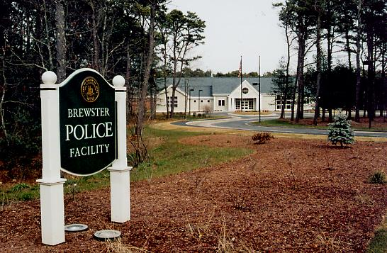 Brewster Police sign photograph