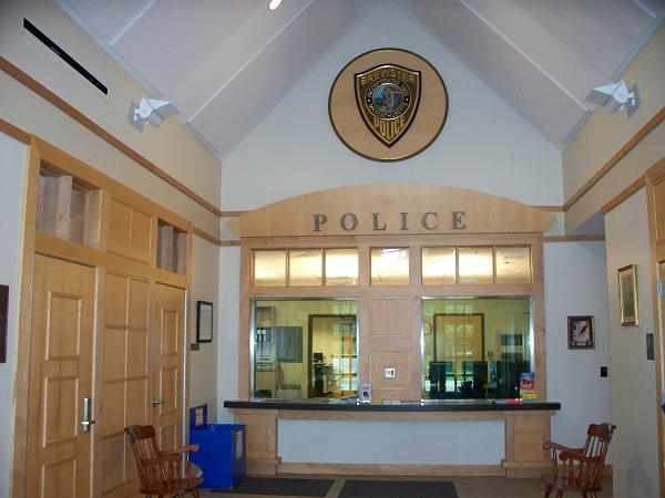 Brewster Police lobby photograph