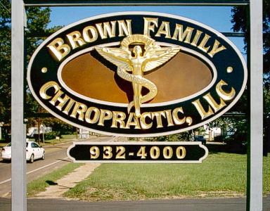 Brown Chirporactic installed
