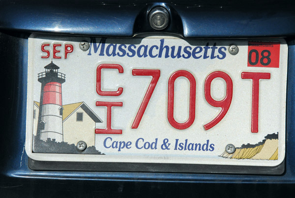 Yet another Cape & Islands license plate