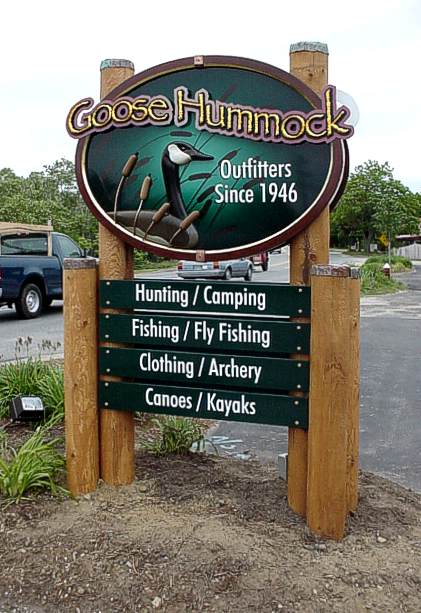 Goose Hummock full view, installed