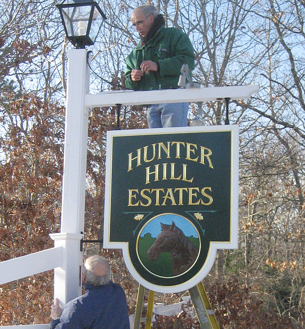 Hunter Hills Estates housing development in Marstons Mills, MA