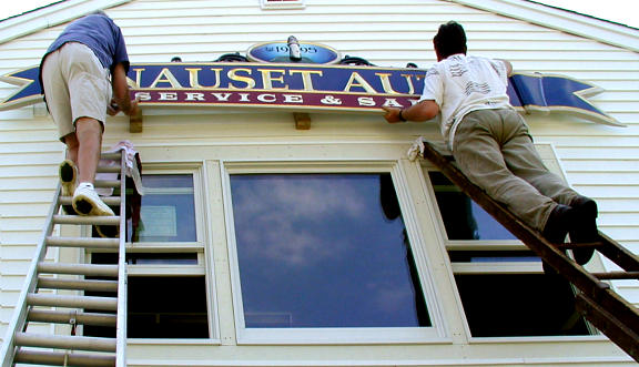 Nauset Auto rides the ladders