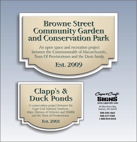 Provincetown Conservation Commission plan