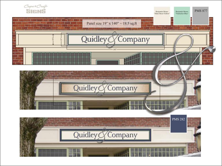 Quidley & Company concept