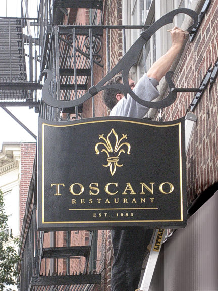 Toscano Restaurant, Boston