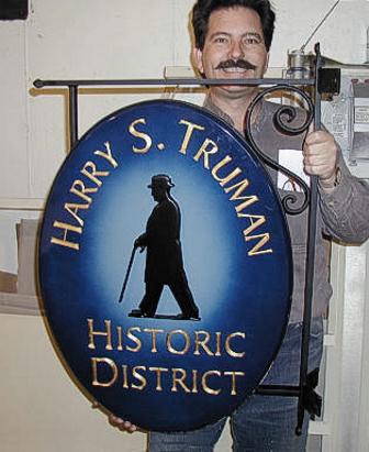 Harry S. Truman custom bracket