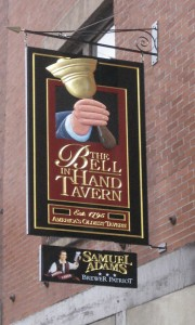 Bell In Hand Tavern, Boston