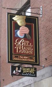 Bell In Hand Tavern, Boston